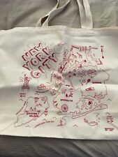 MAPTOTE Tote Beach New York City Large Canvas Bag