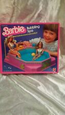 VINTAGE 1980s BARBIE BUBBLING SPA BOXED