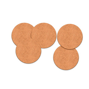 Plain Round Cork Coaster Coffee Drink Tea Cup Mat Placemat Wine Table Mat