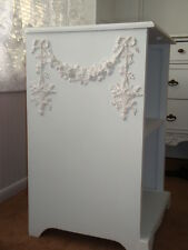 New! Rose Swag & Floral Basket Drops Furniture Applique Architectural Pediment