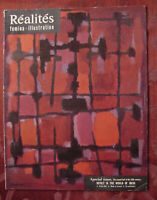 REALITES August 1957 IDEAS ROBERT OPPENHEIMER NICOLAS DE STAEL COLIN WILSON