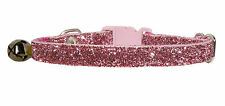Rosa Oscuro SPARKLE seguridad gato collar 12.7 cm-17.8 cm
