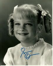 SUSAN OLSEN hand-signed BRADY BUNCH 8x10 uacc rd coa ADORABLE IN PIGTAILS proof
