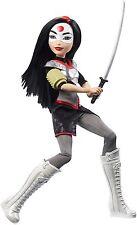 "DC Super Hero Girls Katana Action Doll, 12"" Toy Figure Gift Kids Children NEW"