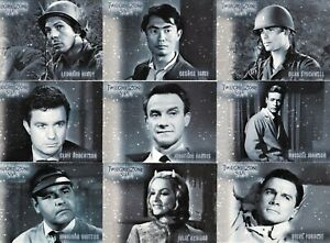 TWILIGHT ZONE 3 SHADOWS AND SUBSTANCE - COMPLETE 9 CARD STARS SET - S19-S27
