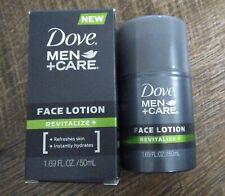 New in box, Dove Men+Care Face Lotion, Revitalize+ 1.69 oz / 50mL, Green Stripe