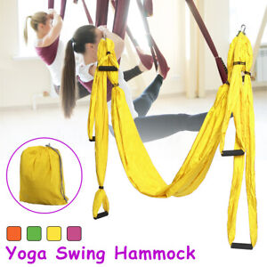 Aerial Yoga Hammock Swing Anti-Gravity Invertion Sling Trapeze Fitness