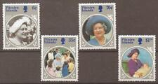 PITCAIRN ISLANDS SG268/71 1984 LIFE & TIMES OF QUEEN MOTHER MNH