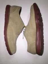 COLE HAAN ORIGINAL GRAND WINGTIP C21132 SUEDE MILKSHAKE NO LUNAR OXFORD SZ 12 M