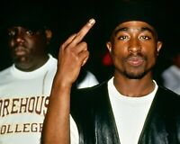 Tupac And Biggie 8x10 Photo Print Artist Musician Collectible (A92)