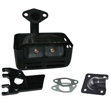Exhaust Muffler For Honda 120 GX160 GX200 5.5 HP 6.5HP Deflector