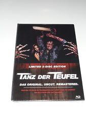 Tanz der Teufel, 3 Blu-rays im Mediabook, limited Edition, neu & ovp