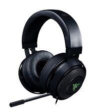 Razer Kraken 7.1 V2 Surround Sound RGB Oval Ear Cushion Gaming Headset w Mic MP