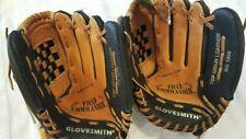 "Glovesmith Rg 1200, 12"" baseball/softball gloves, Rt. Hand throw, Lot Of 2 New"