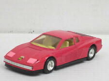 Ferrari Testarossa rosarot, innen creme, o.OVP, MC Toy, 1:39, Pullback-Funktion