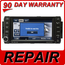 REPAIR Chrysler Dodge Jeep MYGIG Touch Screen Disc Changer Player MP3 AUX RER