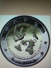 2 euros Monaco. 2013 neuve cc ONU + Cadeau