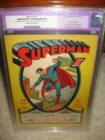 Superman #1 CGC 5.5 (R) 1939 - Mega key Golden Age! Not Trimmed! cm