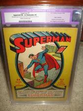 Superman #1 CGC 5.5 (R) 1939 - Mega key Golden Age! Great Investment! cm
