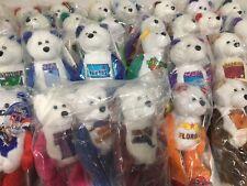 31 Limited Treasures Plush Bear State Quarters in Original Plastic