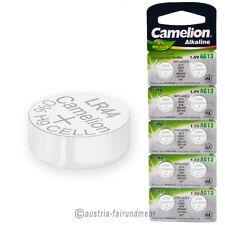 """10x Camelion Knopfzellen Alkaline AG13 LR44 V13GA 157"
