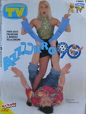 SORRISI 17 1990 Heather Parisi Salvi Jessica Tandy Hume Cronyn Clarissa Burt