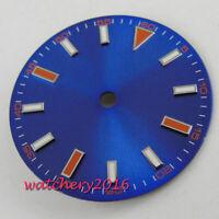 29MM Blue Watch Dial Watch Hands fit 2836 2824 2813 3804 Miyota 82 Movement