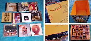 LOTTO BOX CD ROCK PROGRESSIVO PFM, BALLETTO DI BRONZO, BANCO DEL MUTUO SOCCORSO