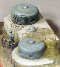 "Verlinden 1/35 ""Schartenturm Casemate"" German Pillbox Bunker West Wall WWII 121"