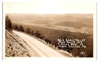 RPPC Bald Eagle Valley from Route 322 near State College, PA Postcard