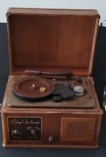Saint George Wire Recorder  Tested Turns On And Spins w/ Speaker. AS IS