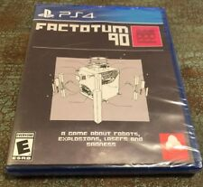 FACTOTUM 90 Playstation 4 PS4 Limited Run Games #122 Reversible Cover New F90 F