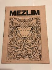 "MEZLIM 1991 ""An Independent Journal For The Working Magus""Magick Thelema Crowley"