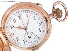"""Orologio da tasca """"minuti repetition CON CRONOGRAFO"""" GOLD circa 1910"""