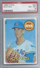 1969 Topps #88 Rich Nye Cubs PSA 8 NM-MT