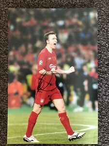 VLADIMIR SMICER (Ex Liverpool & Czech Rep) FOOTBALLER SIGNED 8 X 12 PHOTO