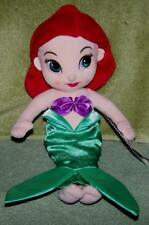 "Disney Animator's Collection Plush ARIEL12"" Doll from The Little Mermaid NWT"