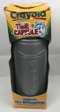 "Crayola Gray Millennium Time Capsule Storage Container Crayon 12.25"""