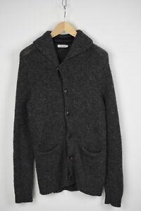 J.LINDEBERG ESTON MELANGE STRIPE Men's MEDIUM Wool Blend Cardigan 31244_JS