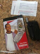 LG VX6100 - Silver (Verizon) Cellular Phone