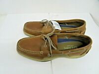 Sperry Men's Intrepid 2 Eye Boat Shoe - Mens Top Sider Tan  SIZE 12