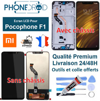 Écran complet LCD + tactile Xiaomi Pocophone F1 + Outils, stock FR