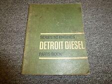 Detroit Diesel Model 6-110 Engine Parts Catalog Manual Book