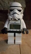 "Lego Star Wars Stormtrooper Digital Alarm Clock  9.5"""
