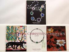 Lot 4 Christie's Important Jewelry Auction Catalogs 93