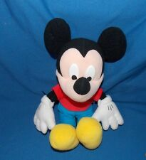 """Disney Micky Mouse stuffed plush doll Poseable Arms 14"""" by Mattel"""