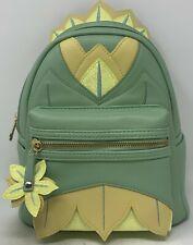 Loungefly Disney Princess Tiana & The Frog Diecut Dress Mini Backpack Boxlunch E