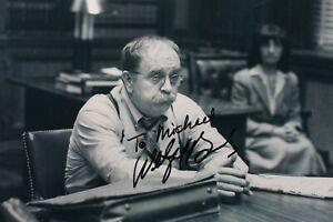 "Wilford Brimley 8""x10"" Black and White Signed Photo Actor Autographed Picture"