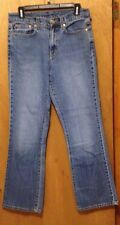 Ralph Lauren blue jeans size 8 measures 31x30 LADIES 99% COTTON 1% SPANDEX