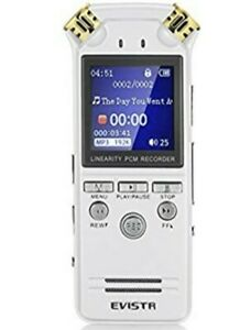 EVISTR Digital Voice Recorder l150 8gb